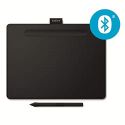 Tablette Wacom Intuos M Bluetooth Noire avec Stylet