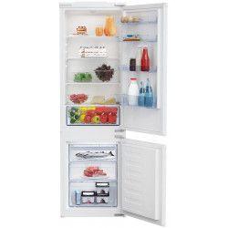 Beko BCHA275K3SN réfrigérateur-congélateur Intégré (placement) Blanc