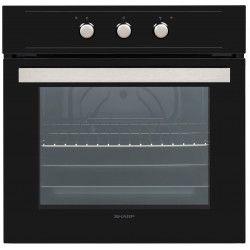 Sharp Home Appliances K-60M15BL2 72 L A Noir, Acier inoxydable