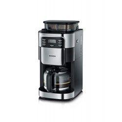 SEVERIN 4810 Cafetiere filtre avec broyeur intégré - Noir et inox - 1000W - 1,4 L