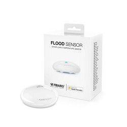 FIBARO Détecteur d`inondation bluetooth Flood Sensor compatible Apple HomeKit