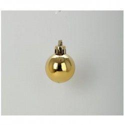Kit de 60 boules de noël 6 cm doré