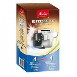 MELITTA - Kit nettoyage machine a expresso 4 sachets et 4 pastilles