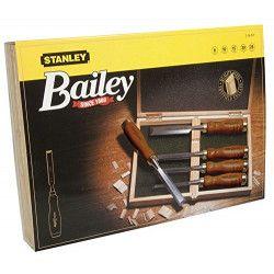 Coffret de 5 ciseaux a bois `Sculpteur` STANLEY