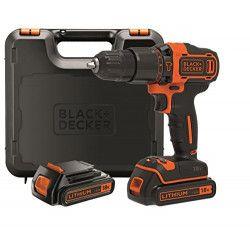 Black & Decker BDCHD18KB Noir, Orange