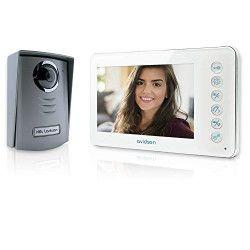 AVIDSEN Visiophone Ylva 2 fils couleur écran tactile 7` a vision nocturne