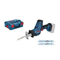 Bosch GSA 18 V-LI C Professional Noir, Bleu, Rouge
