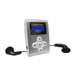 INOVALLEY - MP05E - Baladeur MP3 silver sans mémoire interne