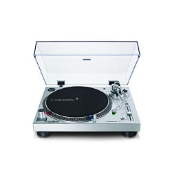 Platine vinyle Audio-Technica AT-LP120XUSBSV Argent