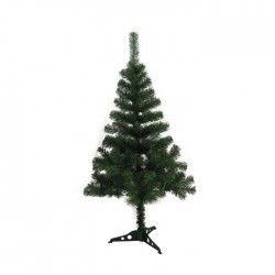 Sapin de Noël artificiel 80 branches hauteur 90 cm vert