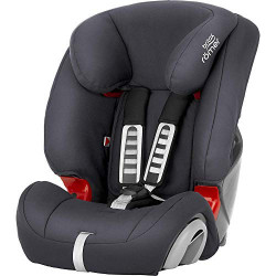 Britax Römer Siège-auto 15 mois à 12 ans | 9 - 36 kg | EVOLVA 1-2-3 SL SICT | Isofix Groupe 1-2-3 | Storm Grey
