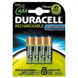 Pile rechargeable DURACELL - HR03B4