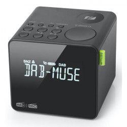Radio-réveil double alarme MUSE - M187CDB