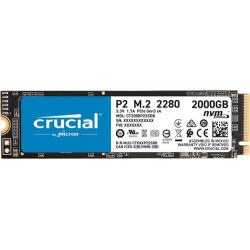SSD interne M.2 Nvme Crucial P2 1TO