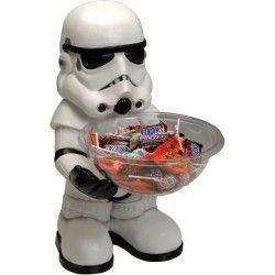 STAR WARS Halloween Pot a bonbons 50 cms Stormtrooper