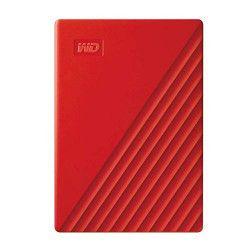 Disque Dur Externe Western Digital My Passport 2 To Rouge