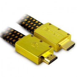 Aliencable ExtremeSeries (1 m) - Câble HDMI 2.0 a hautes performance compatible 3D, Full HD (1080p) et UltraHD 4K
