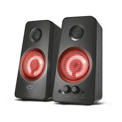 Trust 21202 haut-parleur Noir, Rouge 18 W