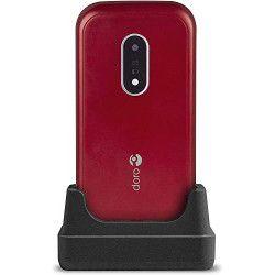 """Doro 7030 7,11 cm (2.8"""") 124 g Rouge, Blanc Téléphone numérique"""