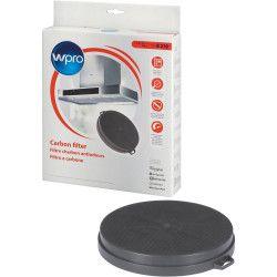 Wpro CHF210/1 Filtre de hotte a charbon B210 diam 210mm x h 30mm