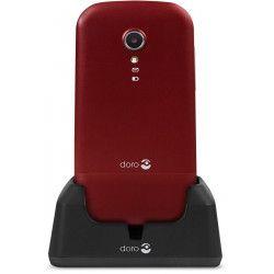 """Doro 2404 6,1 cm (2.4"""") 100 g Rouge, Blanc Téléphone numérique"""