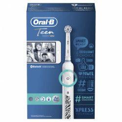 Oral-B Teen Brosse a dents électrique rechargeable - Blanc