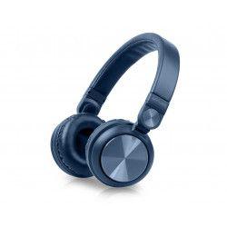 Muse M-276BTB écouteur/casque Arceau Connecteur de 3,5 mm Bluetooth Bleu