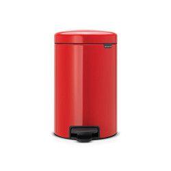 Brabantia 112003 poubelle 12 L Rond Rouge