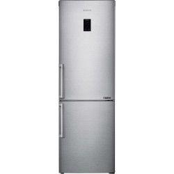 Samsung RB33J3315SA réfrigérateur-congélateur Autoportante 328 L E Métallique