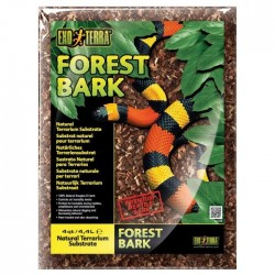 EXO TERRA Substrat naturel Forest Bark 4,4 L - Pour terrarium