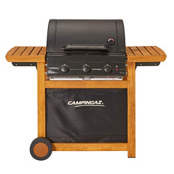 CAMPINGAZ Barbecue a gaz Adelaide 3 Woody L - Acier émaillé - 45x57 cm
