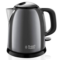 Russell Hobbs 24993-70 bouilloire 1 L Noir, Gris