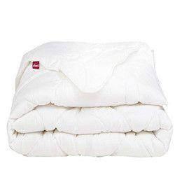 ABEIL Couette chaude 100% coton Bio Confort Sensation 220x240 cm blanc