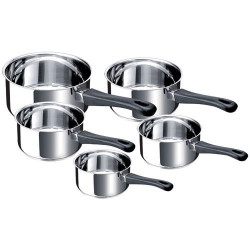BEKA Set 5 casseroles tous feux dont induction