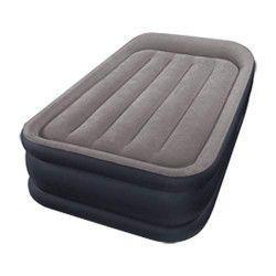 INTEX Matelas DELUXE REST BED FIBER TECH 99x191 cm - Gonflable - Fermeté réglable - 42 cm - Électrique - 1