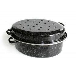 BEKA Daubiere Kitchen Roc - Ø 42 cm - Noir - Tous feux dont induction