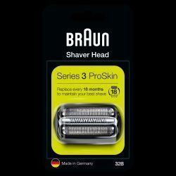 Tête de rasoir Braun cassette 32B Série 3