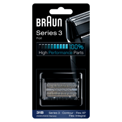 Tête de rasoir Braun grille et bloc couteaux 31B combi pack