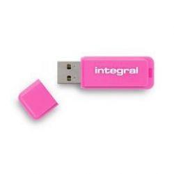 Integral NEON lecteur USB flash 32 Go USB Type-A 2 Rose