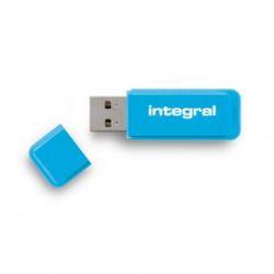 Integral NEON lecteur USB flash 16 Go USB Type-A 2 Bleu