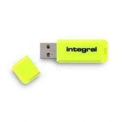 Integral NEON lecteur USB flash 64 Go USB Type-A 2 Jaune