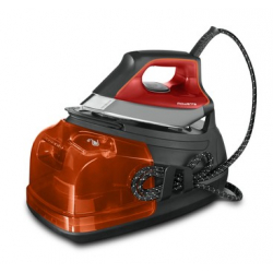 Rowenta DG8642F0 2400 W 1,1 L Semelle Laser HD Microsteam 400 Gris, Orange
