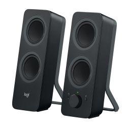 Pack de 2 haut-parleurs sans fil Logitech Z207 Noir