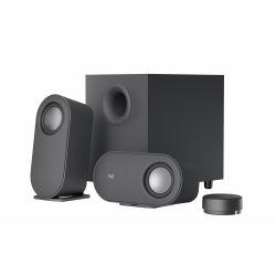 Haut-parleurs sans fil Bluetooth Logitech Z407 pour PC Noir