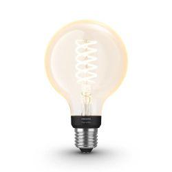 White - Ampoule 9W Filament Globe E27 X1