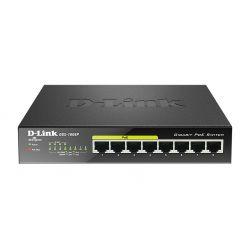 D-Link DGS-1008P Switch 8 Puertos