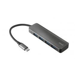 hub USB-C 4 ports usb 3.2 alumi
