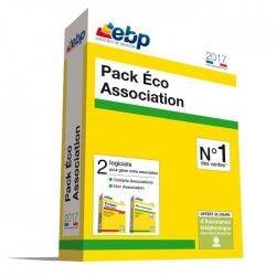 EBP Pack Eco Association 2017 - 2 logiciels essentiels pour gérer votre association : Mon Association + Compta Associations Clas