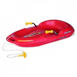 Luge Enfant Rolly Snow Max Rouge