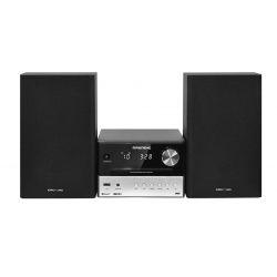 Grundig CMS 3000 BT DAB+ Système micro audio domestique 30 W Noir, Argent